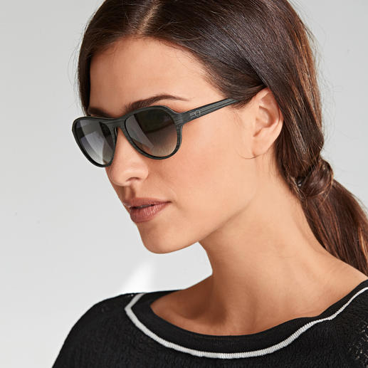 Monkeyglasses® Cotton Sunglasses Stylish wood effect – but lighter, more stable and moisture resistant.