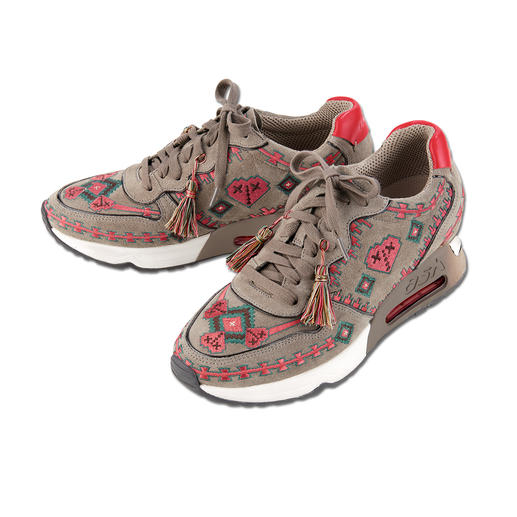 Ash Ethno Sneakers The premium sneaker for the ethno look: Artfully embroidered. With handmade tassels. By Ash.