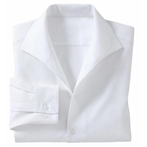 Shirt with Schiller Collar Look chic and business-appropriate – without a tie. The shirt with a classic schiller collar.