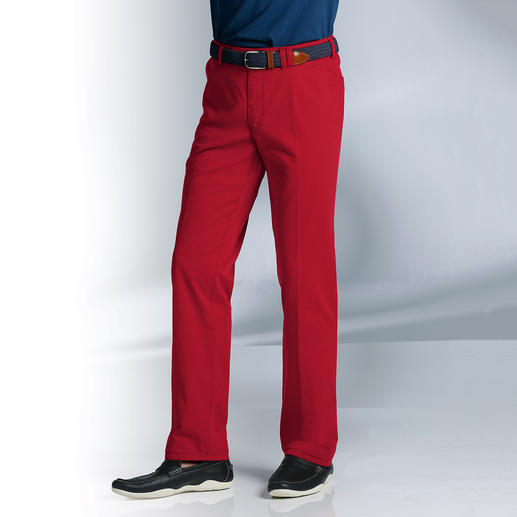 Fine Canvas Trousers More elegant and airy than denim. But rugged enough not to appear too fancy.