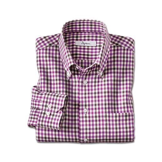 Light Flannel Shirt Soft and warm like flannel – but much lighter, finer and easier to combine.