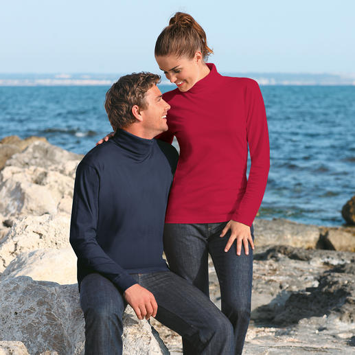 Pima Cotton Pullover, Ladies The rare pullover in genuine Peruvian pima cotton. Won't fade, stays in shape, with an elegant sheen.