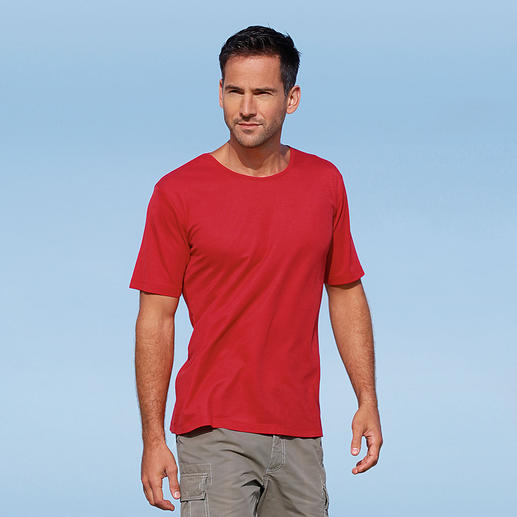 SunSelect® T-shirt, Men Looks good, feels good and has the same effect as a good sun cream.