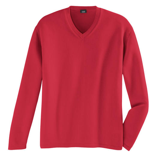 Pima Pullover Pima cotton, 12-gauge: The ideal summer pullover.