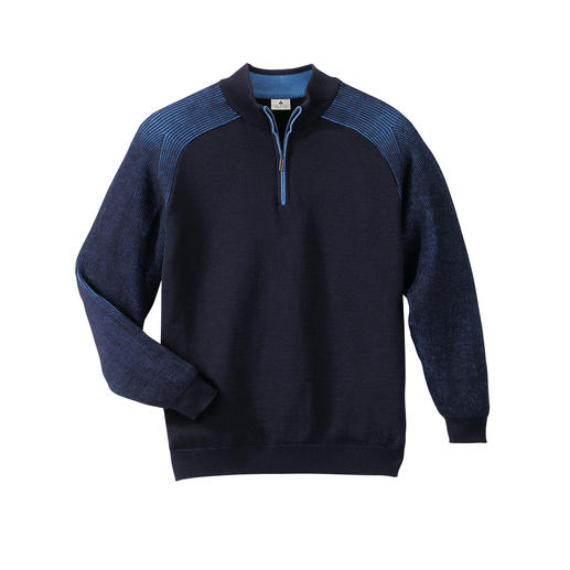 Stereo-System® Jumper The warm woollen jumper that never ever scratches.