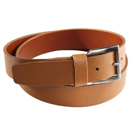 Ludwig Schröder Saffian Belt Soft Italian calf leather. Intricate German craftsmanship.