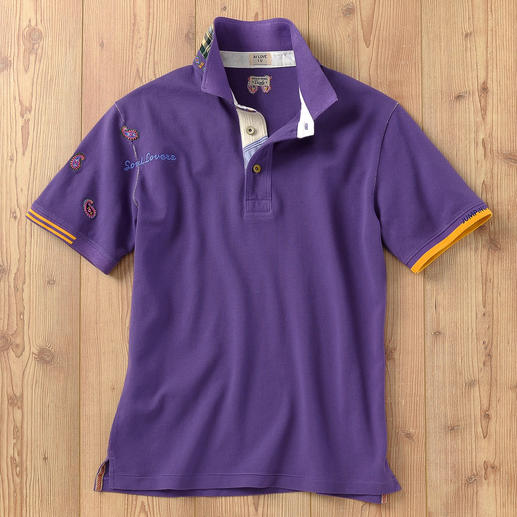 R95th Vintage Polo Shirt At last, a vintage polo shirt with tasteful detailing. Casual, fancy and (still) a rarity.