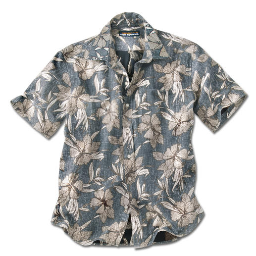 "Reyn Spooner Hawaiian Shirt ""Hibiscus Flower"" You should buy your Hawaiian shirt in Hawaii – or…