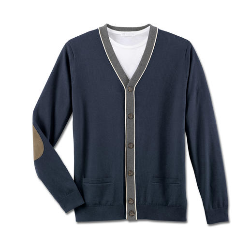 Inca Pima Cotton Cardigan The perfect summer cardigan. Made from hand-picked Peruvian pima cotton. Light. Airy. Soft. And substantial.