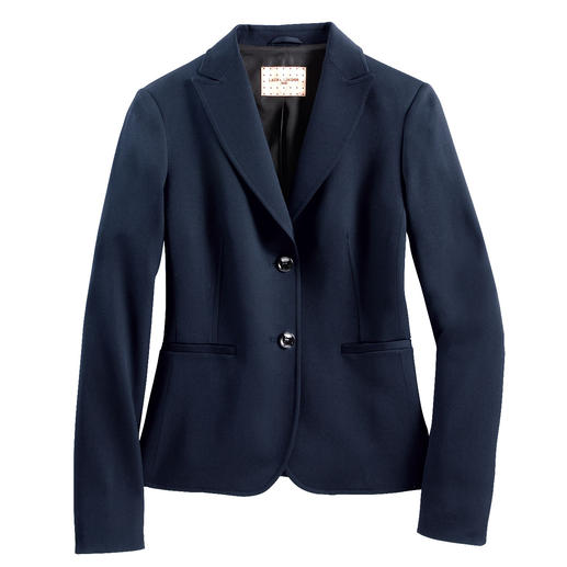 The 24-hour blazer: Appropriate for business, casual with jeans, elegant in the evening. The 24-hour blazer: Appropriate for business, casual with jeans, elegant in the evening. And washable, too.