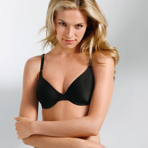 """One Fabulous Fit®"" Maidenform® T-Shirt Bra America's best-selling bra. But hard to find here."