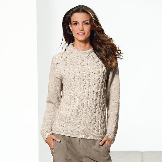 Irelands Eye Cable-Knit Pullover Soft and warm. Nice and snug thanks to the cashmere wool - timeless and hard to find.