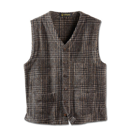Hollington Chenille Waistcoat Indestructible design.