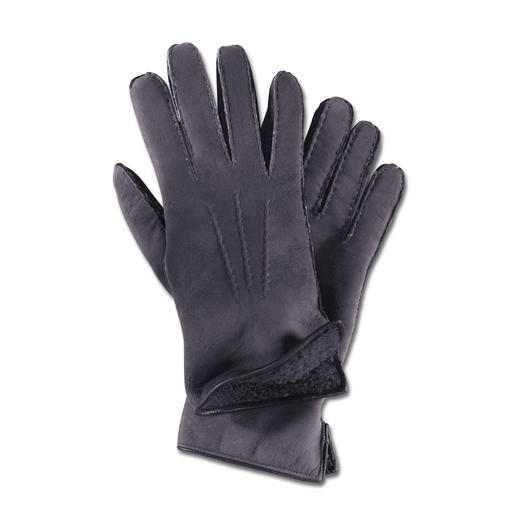 Merola Curly Lambskin Gloves for women The luxury gloves made from rare curly lambskin. Finest suede. Perfect fit.