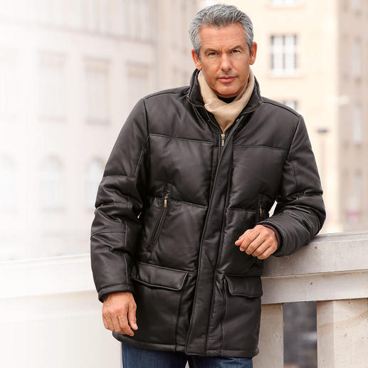 Reindeer Nappa Down Jacket - The timelessly beautiful winter leather jacket – a purchase to last a lifetime.