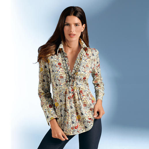 "Tana Lawn Tunic ""Mark"" Liberty™ fabrics: Famous for beautiful patterns for over 130 years."