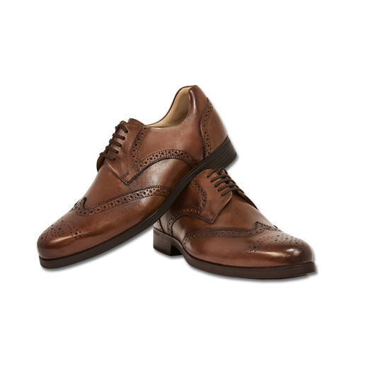 Weber Full-Brogue Derby You could run a marathon in these. Absolutely appropriate for the office.