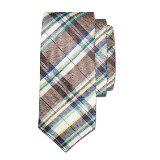 Laco Linen/Cotton Tie The perfect addition to lightweight summer jackets and suits.