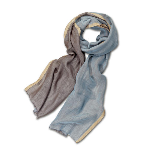 alpi Doubleface Scarf Two colours, endless combinations. Fashionably trendy. Classier than standard cotton scarves.