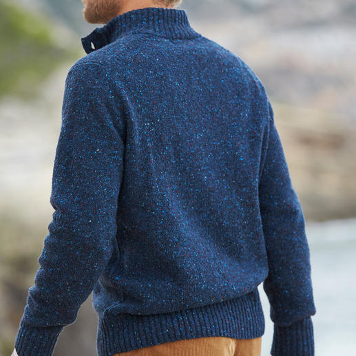 Alan Paine Soft Donegal Troyer More interesting than a plain coloured coarse-knit jumper. And softer than most.