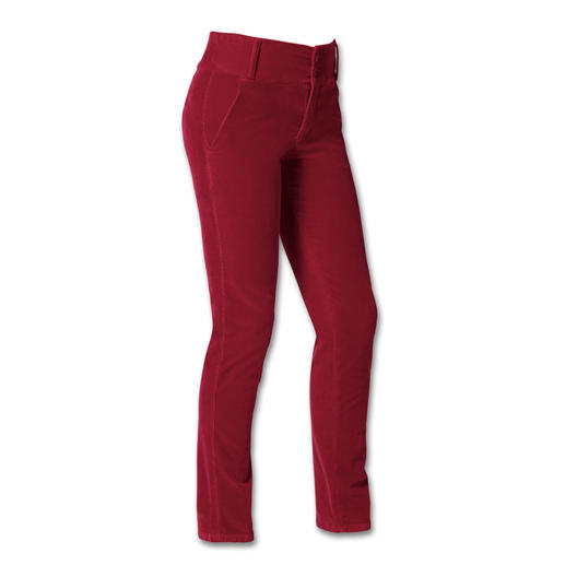 Cotton-Line Elegant Cord Trousers Cord has never looked so good: Modal and cashmere make these trousers vibrant and beautifully soft.