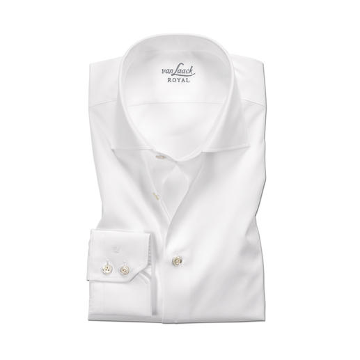 "van Laack Premium Shirt ""Royal"" Tailor Fit or Slim Fit Everything you would expect from a premium shirt. Finest cotton. First-class workmanship. Easy-care finish."
