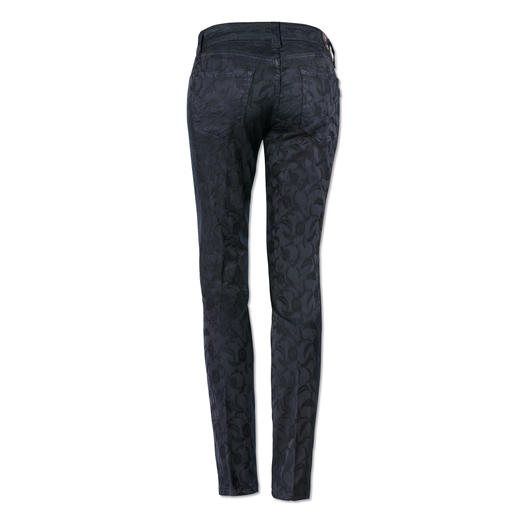S.O.S Jacquard Jeans Last longer than most trendy patterned jeans. And are far more elegant.