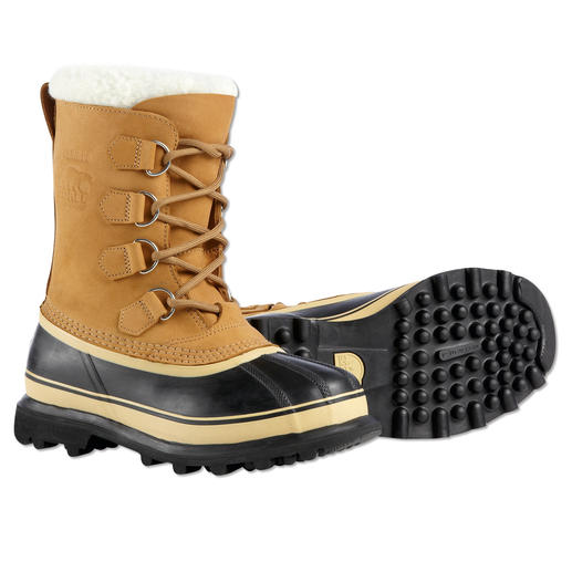 "Sorel Ladies' or Men's ""Caribou"" Winter Boots An iconic classic, a trendy boot and one of the best to protect against cold, rain and snow."