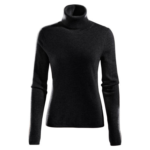 FTC Cashmere V-Jumper or Polo Neck As airy as a shirt. Except it's made from the finest downy-soft cashmere.
