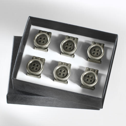 Braces Button Clips - Practical button clips for your suspenders. Easy to attach to any pants.