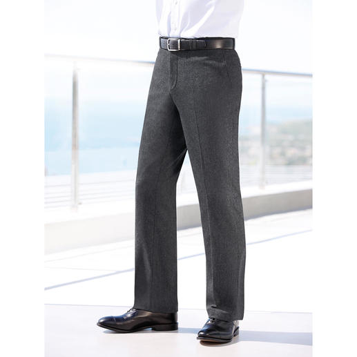 Donegal Tweed Trousers Finer and more stylish than most tweed trousers. They're machine washable, too.