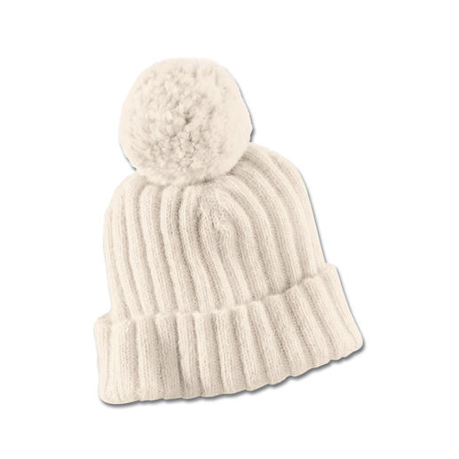 Alpaca Ribbed Knitted Hat or Scarf Natural alpaca wool taken from German breeding stock. Good for your skin (and for our environment).