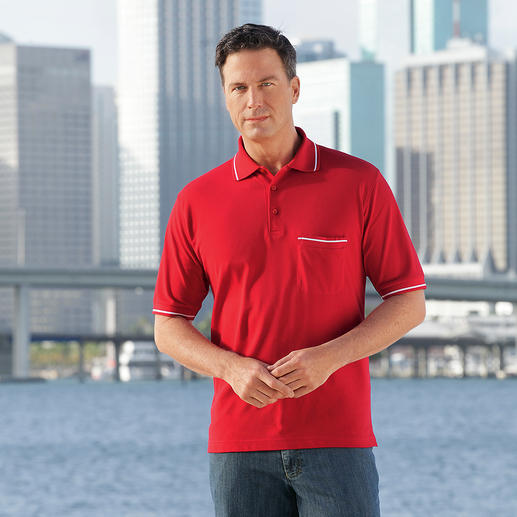 Pima Polo Shirt, Men Made of handpicked Peruvian Pima cotton. Top quality, like the best polo shirts in the world.