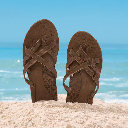 Teva® Waterproof Leather Mules, Ladies These classy leather beach mules are water repellent and can handle saltwater.