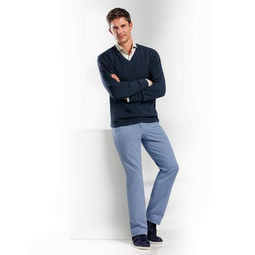 Pima Pullover - Pima cotton, 12-gauge: The ideal summer pullover.