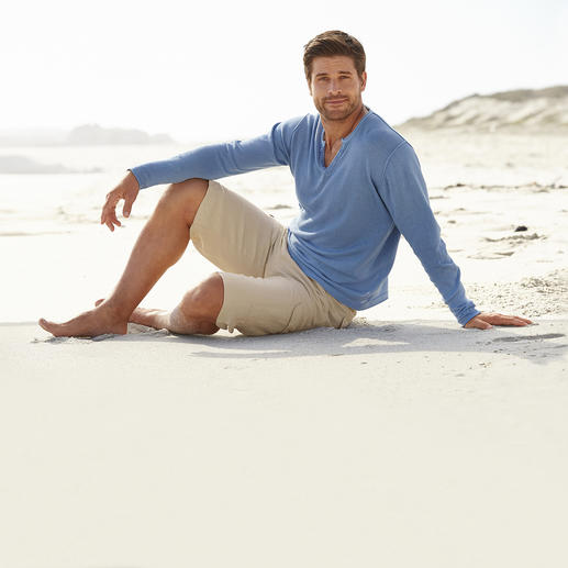 Ragman Casual Pullover Fine linen and cotton knit: Casual can look this stylish.
