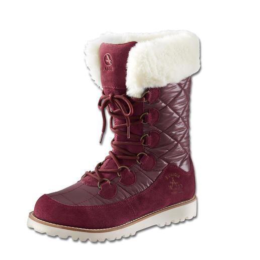Aigle Snow Fur Boot, Raisin Lightweight. Outstanding design. And still 100% outdoor boot.