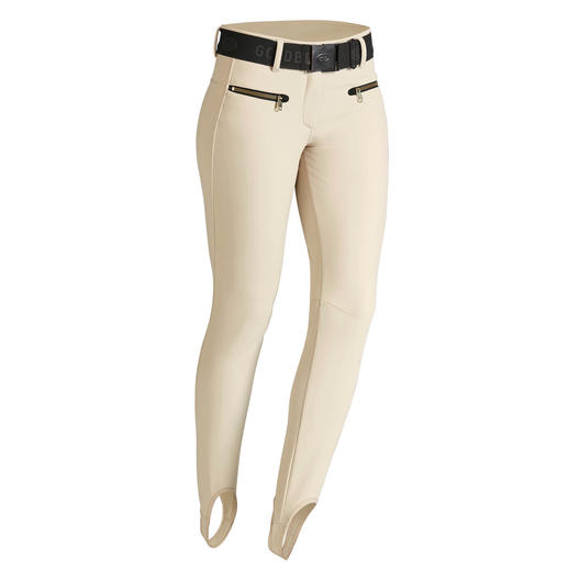 Goldbergh Couture Sports Jacket or Softshell Stirrup Trousers Sporty streetwear or stylish sportswear? Both! By Dutch fashion press favourite, Goldbergh.