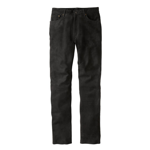 Buffalo Leather Trousers Robust and indestructible – and yet soft.
