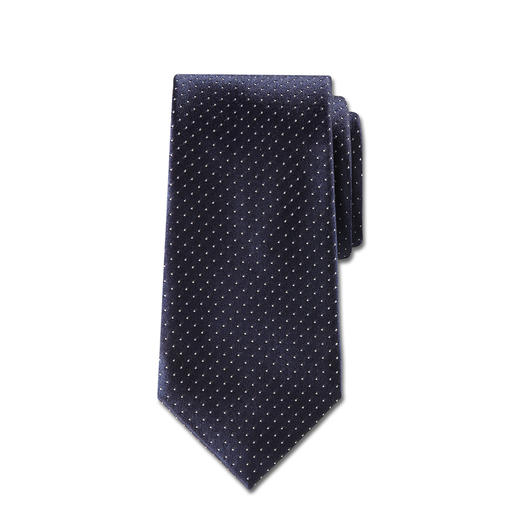 "Ascot Silk Tie ""Caviar Dots"" - Caviar dots: Probably the most elegant and adaptable tie design.