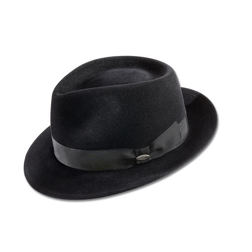 Mayser Ladies Fedora Hat - The latest extravaganza: Masculine hats. Preferably from Mayser, expert German millinery since 1800.