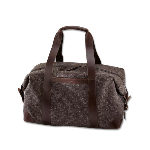 Cherchbi Overnight Bag Above and beyond any trend: The stylish overnight bag in waterproof tweed. Sturdy. Hardwearing.