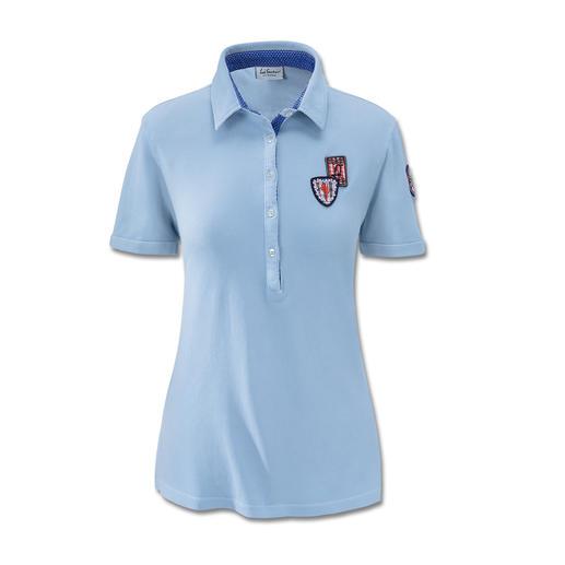 Luis Trenker Piqué Polo More elegant than most piqué polo shirts.
