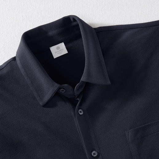 Sunspel Pima Piqué Shirt Probably the airiest and most comfortable summer shirt.