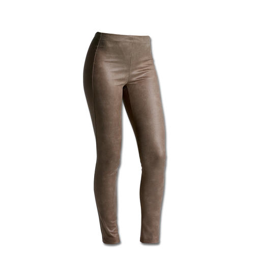 """Faux Leather"" Janice & Jo Leggings Deceptively genuine leather look, perfect fit and great price."