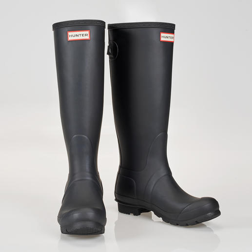 Hunter Original Wellingtons Tradition since 1856. Purveyor to the Duke of Edinburgh and Her Majesty the Queen.
