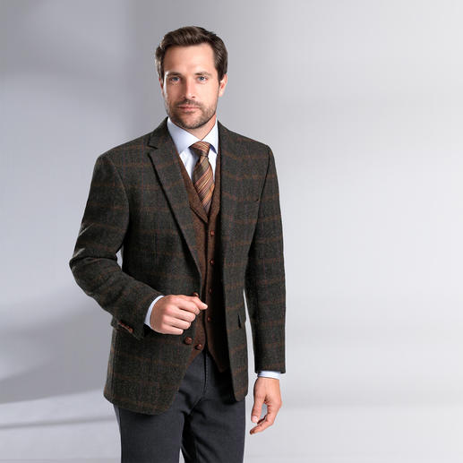 Tweed Jacket and Waistcoat