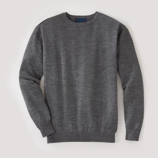Round-Neck, Grey Heather