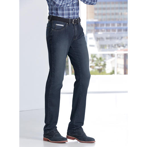 24-Hour Jeans The look of classic jeans. But as comfortable as tracksuit bottoms.