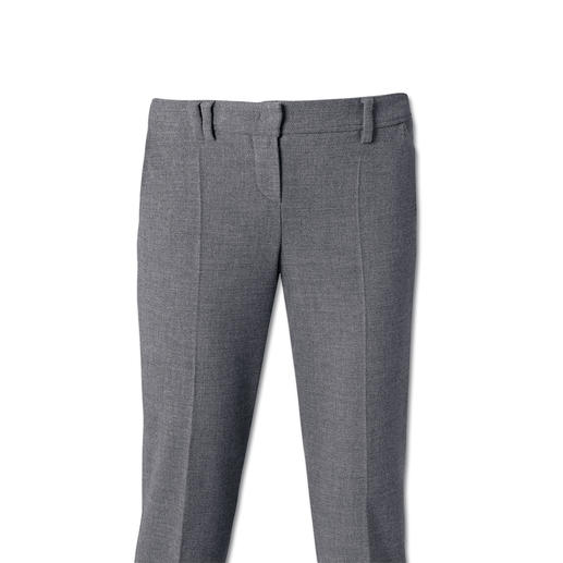 "Seductive ""Blended Wool"" Business  Trousers Soft, won't chafe, comfortably elastic, hardwearing and machine washable."